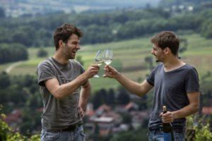 Steirische Weinbauern auch genannt Winzer der Weinregion Steiermark - Wein Steiermark