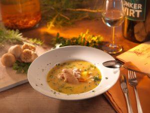 Hendleinmachsuppe - Junker Rezepttipps Wein Steiermark