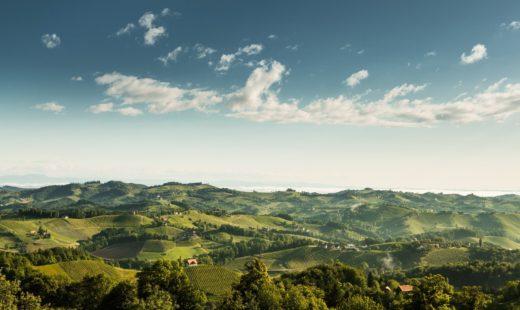 Anbaugebiete der Weinregion Steiermark
