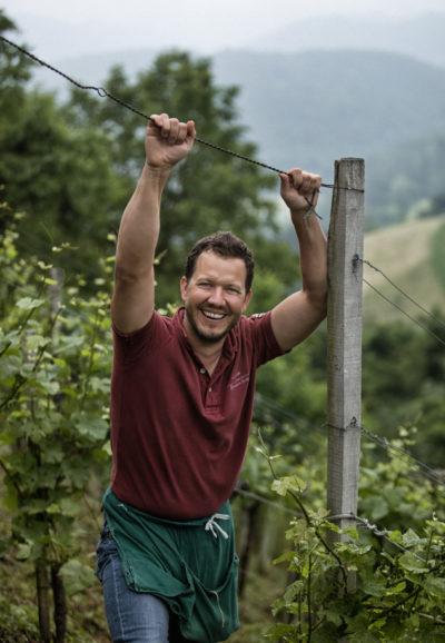 Winzer werden in der Weinregion Steiermark Weinbauern genannt