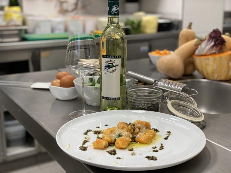 Gnocci - Junkerrezepttipps - Jungwein - Wein Steiermark