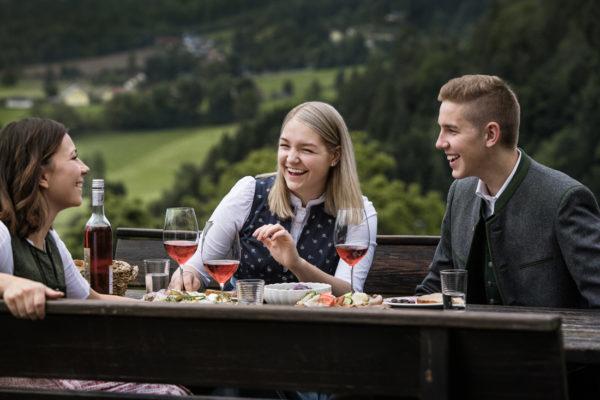 Buschenschanken haben lange Tradition in der Weinregion Steiermark