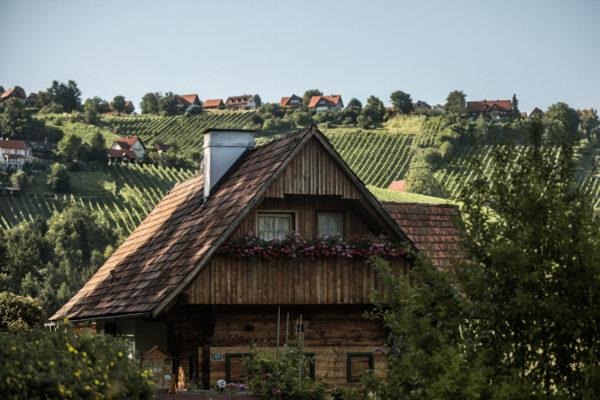 Traditionelle Architektur im Weinland Steiermark