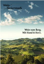 Dossier / Pressemappe Wein Steiermark