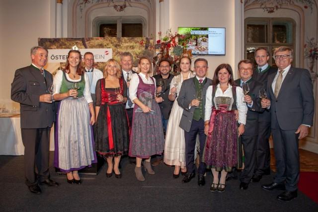 Event Bundesweintaufe in Graz - Wein Steiermark