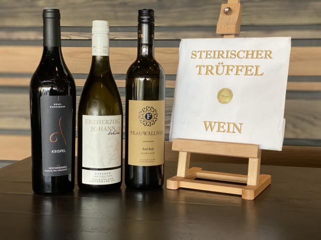 Trüffel Siegerweine Steiermark