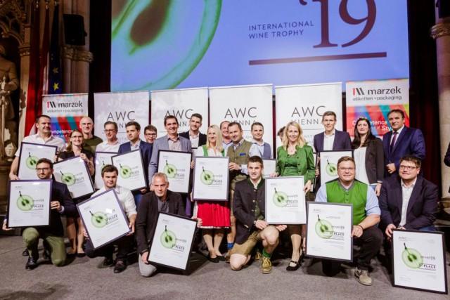 AWC Vienna - International Wine Challenge - Prämierung - Wein Steiermark