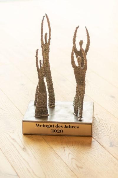 Trophäe für das Weingut des Jahres - Prämierungen Wein Steiermark