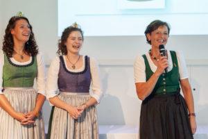 Weinhoheiten und Landwirtschaftskammer Vizepräsidentin Maria Pein
