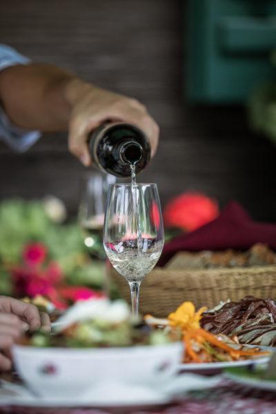 Steirischer Wein in der Buschenschank - Buschenschank Wein Steiermark