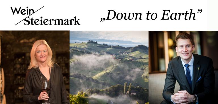 "Online Weinverkostung ""Down to Earth"""